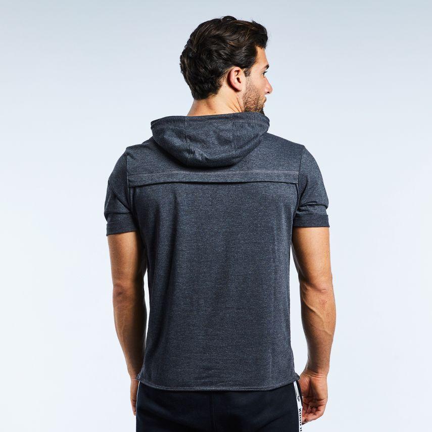 Smilodox Men's Hooded T-Shirt Pressure – Bild 10