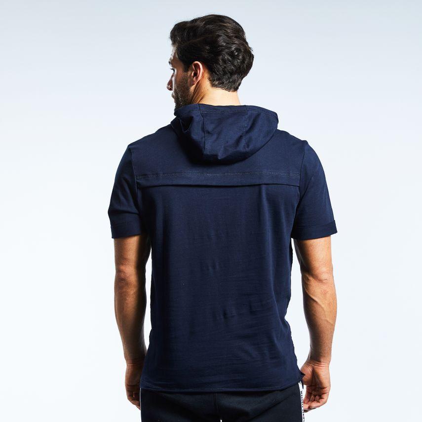 Smilodox Herren Hooded T-Shirt Pressure – Bild 5