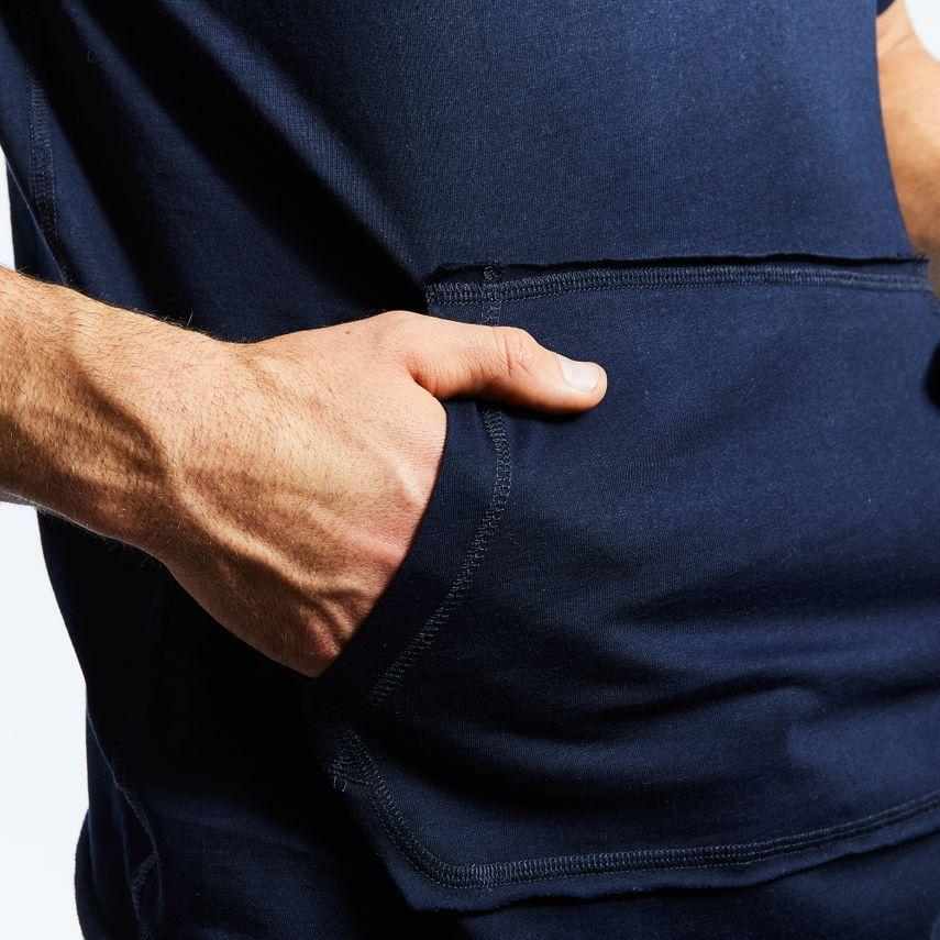 Smilodox Men's Hooded T-Shirt Pressure – Bild 3