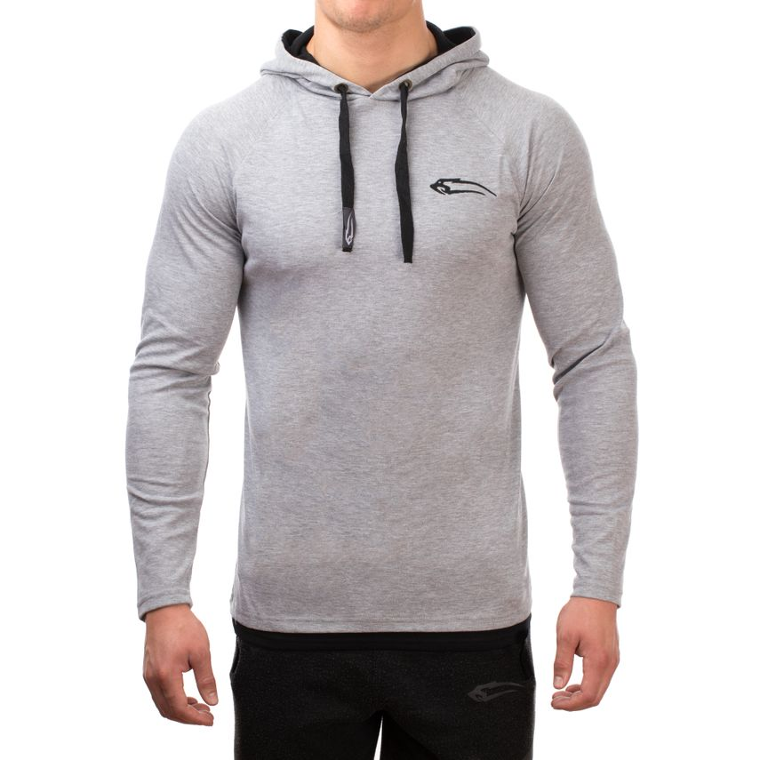 SMILODOX  Hoodie Men Sports Fitness  Gym Leisure Sports Sweater Hooded Sweater – Bild 5