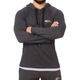 SMILODOX  Hoodie Men Sports Fitness  Gym Leisure Sports Sweater Hooded Sweater – Bild 2