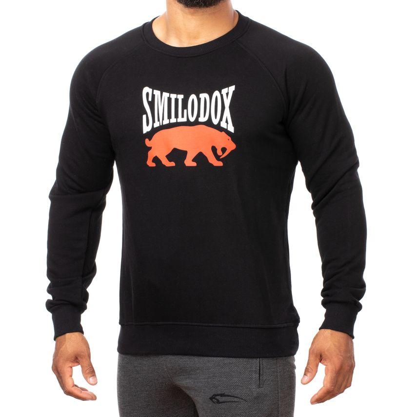 SMILODOX Sweatshirt Herren Sport Fitness Gym Freizeit Pullover Trainingspullover – Bild 10