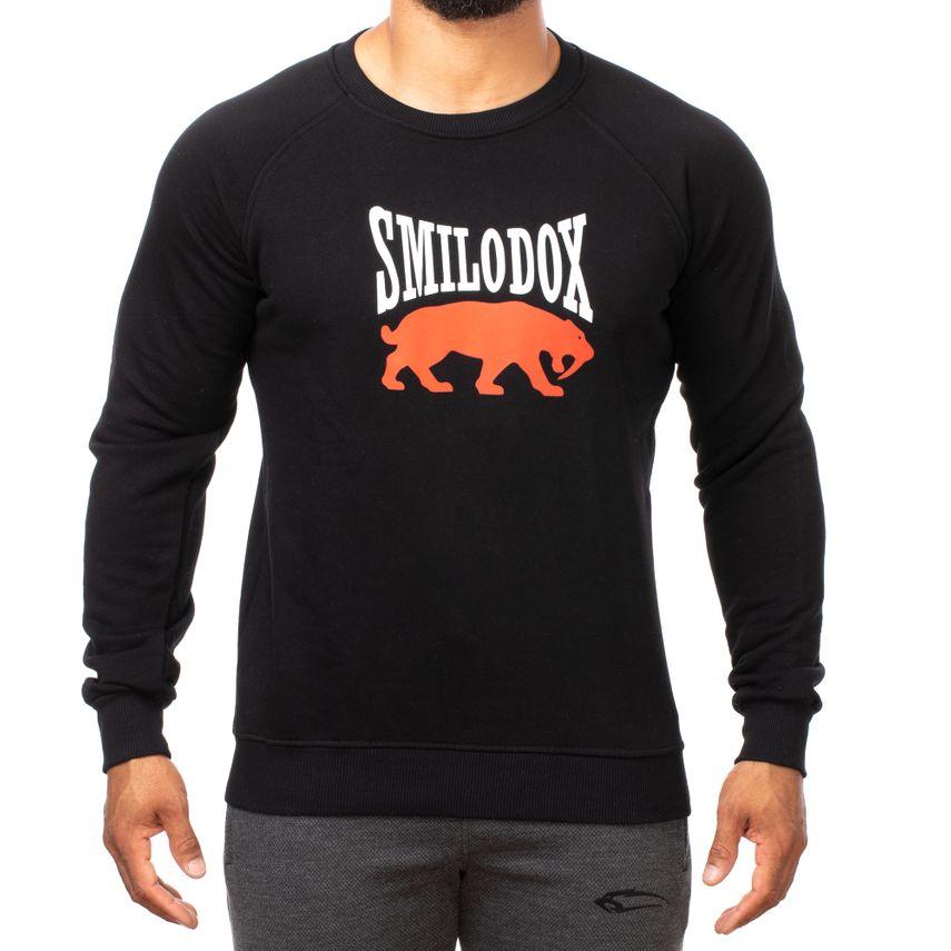 SMILODOX Sweatshirt Herren Sport Fitness Gym Freizeit Pullover Trainingspullover – Bild 9