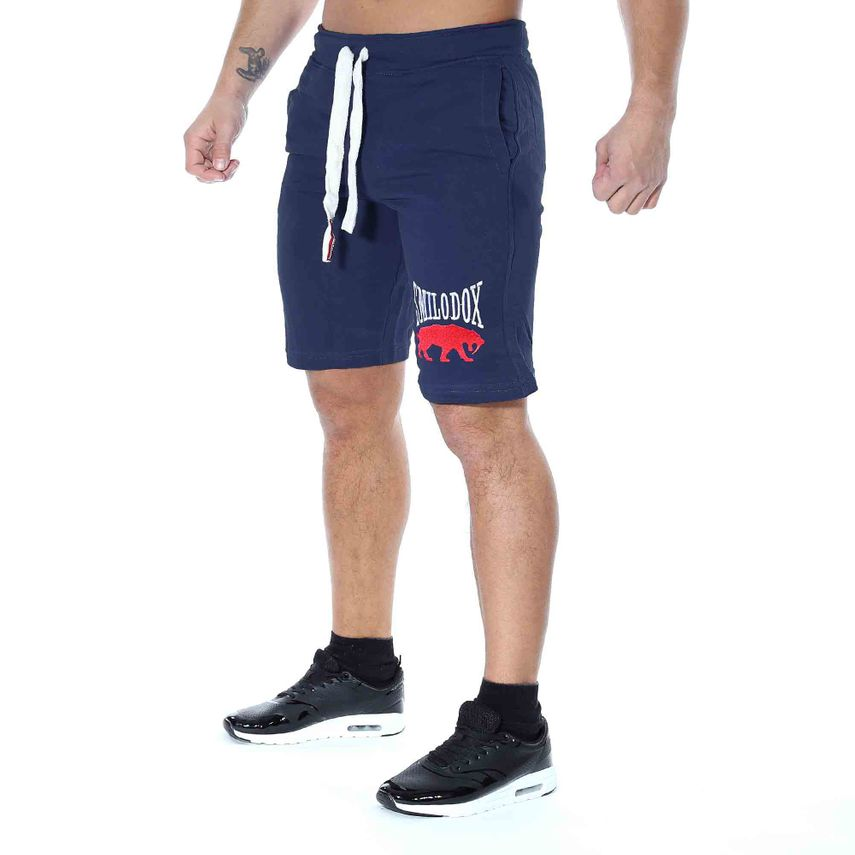 SMILODOX Shorts Herren Sport Fitness Gym Freizeit Trainingsshort kurze Hose – Bild 5