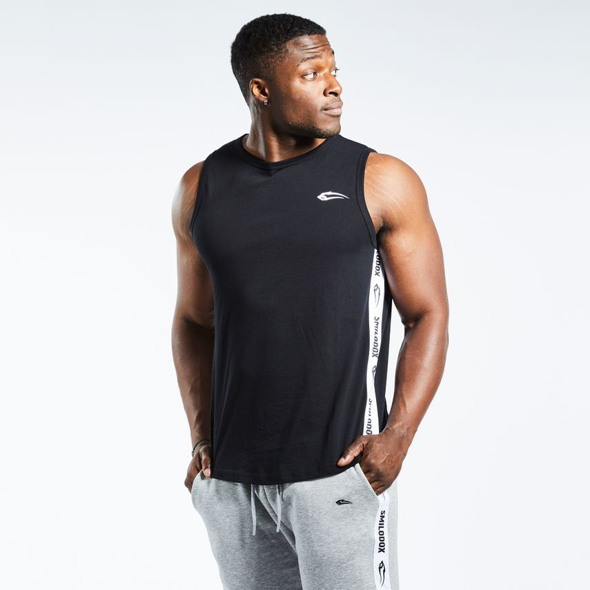 Smilodox Men's Tank Top Stripe – Bild 15