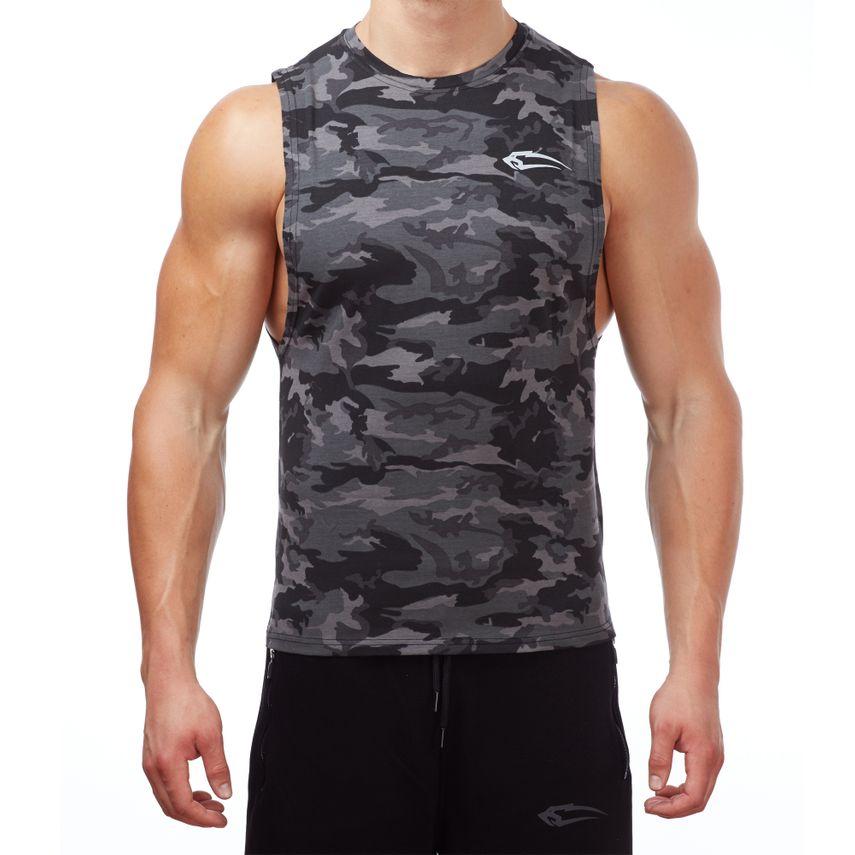 SMILODOX Tank Top Men Sports Fitness  Gym Leisure Training Shirt Sporttop – Bild 1