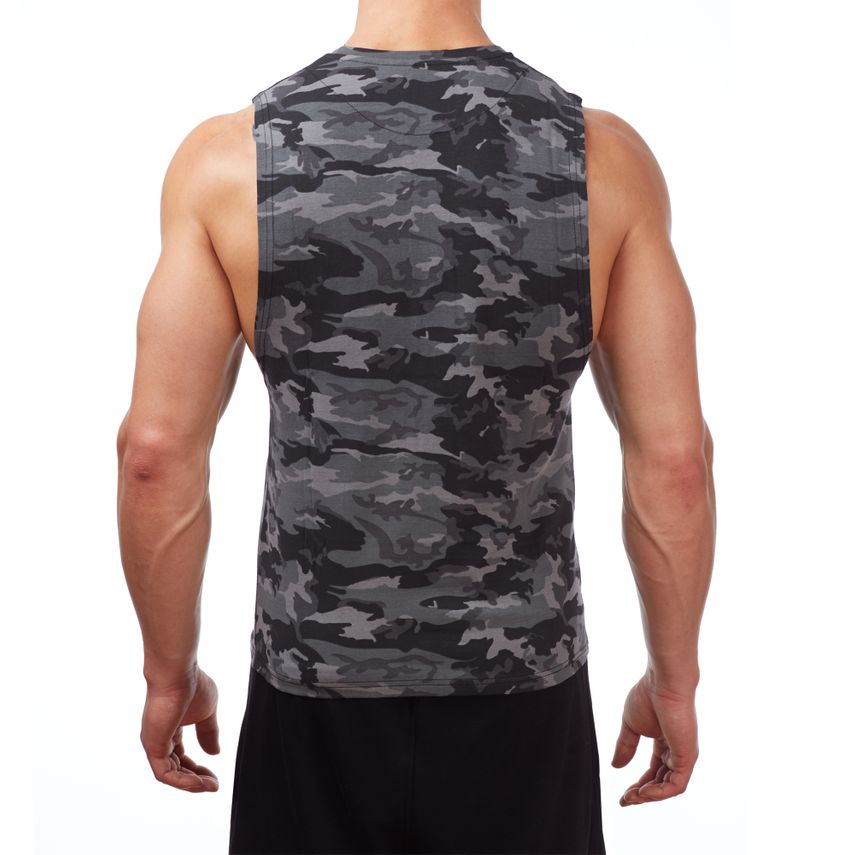 SMILODOX Tank Top Herren Sport Fitness Gym Freizeit Trainingsshirt Sporttop – Bild 3