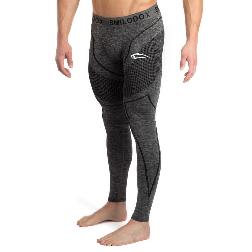 Smilodox Herren Seamless Leggings / Tight – Bild 2