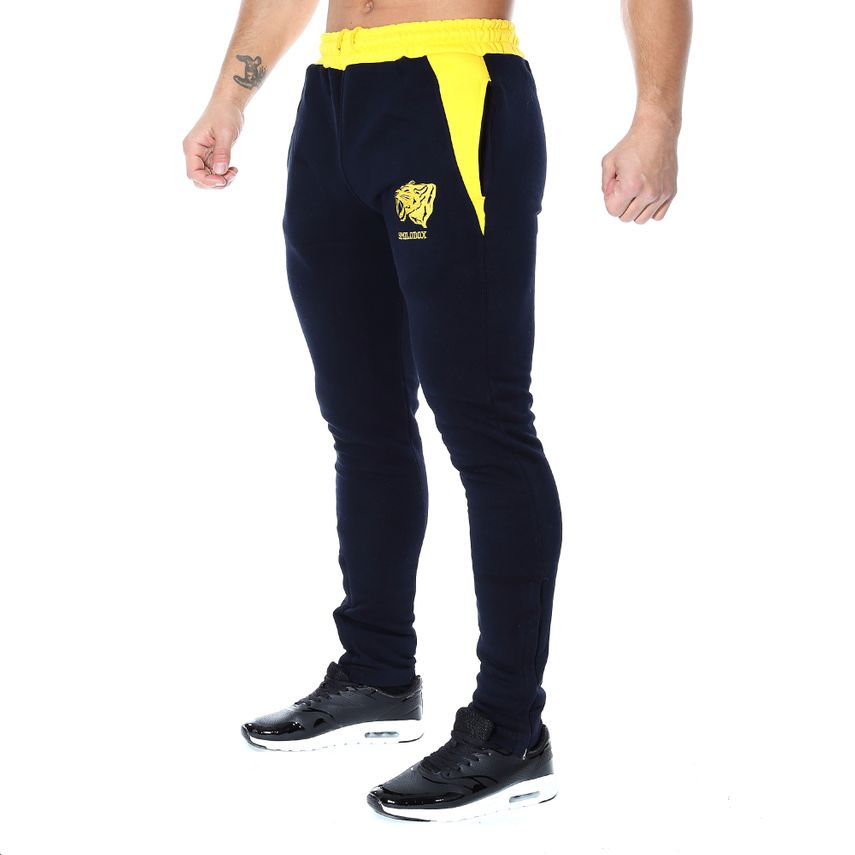 SMILODOX jogging trousers men sport fitness Gym training leisure training trousers – Bild 5