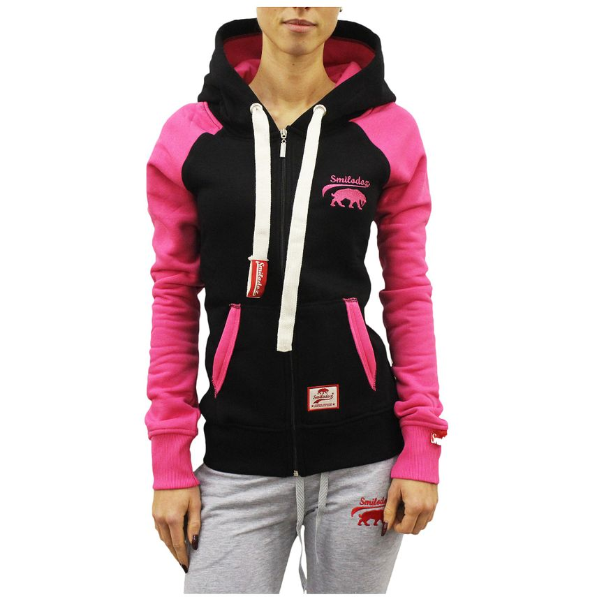 SMILODOX  Zip Hoodie Women Sports Fitness  Gym Leisure Training Hooded Sweater – Bild 6