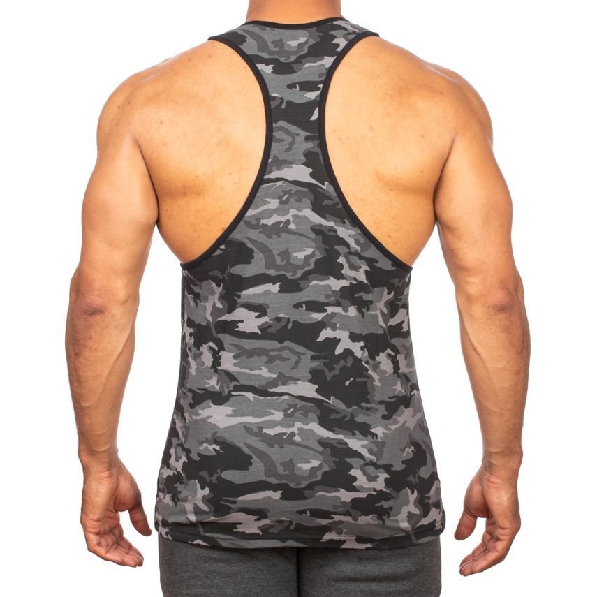 SMILODOX Stringer Men Sports Fitness  Gym Leisure Training Shirt Tank Top – Bild 4