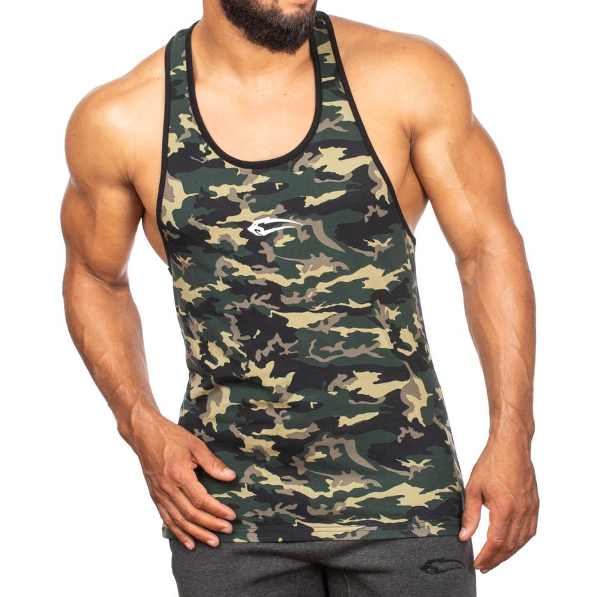 SMILODOX Stringer Men Sports Fitness  Gym Leisure Training Shirt Tank Top – Bild 11