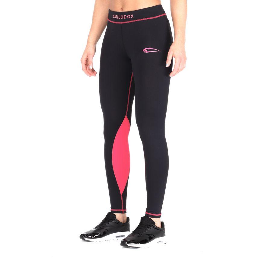Smilodox Damen Kompressionsleggings Leggings Neon Style – Bild 2