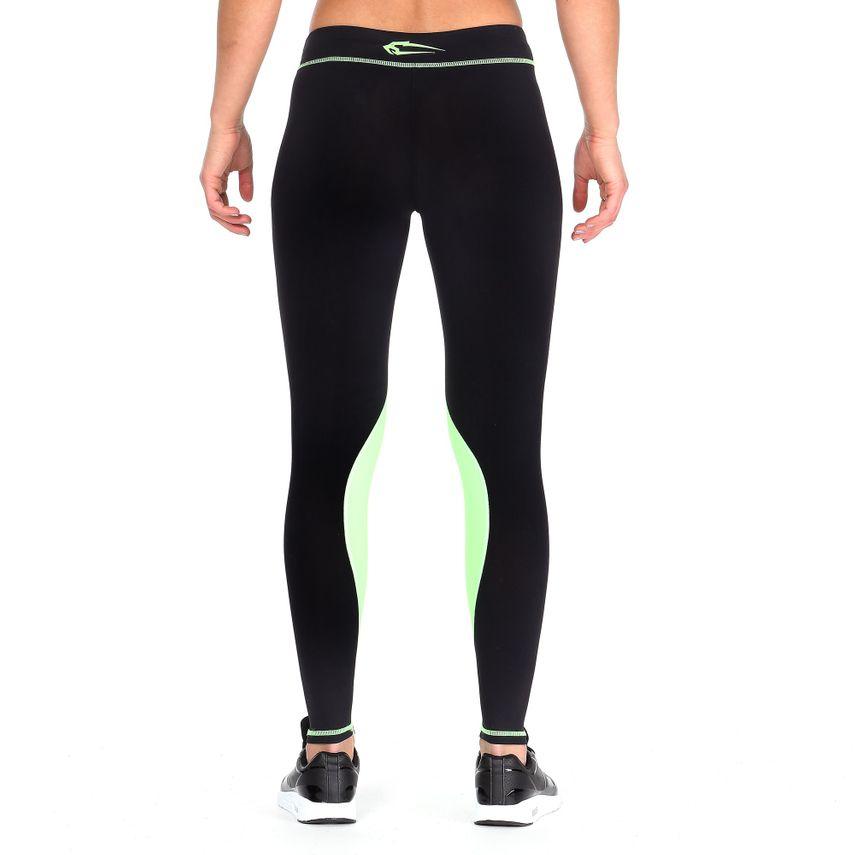 Smilodox Damen Kompressionsleggings Leggings Neon Style – Bild 6