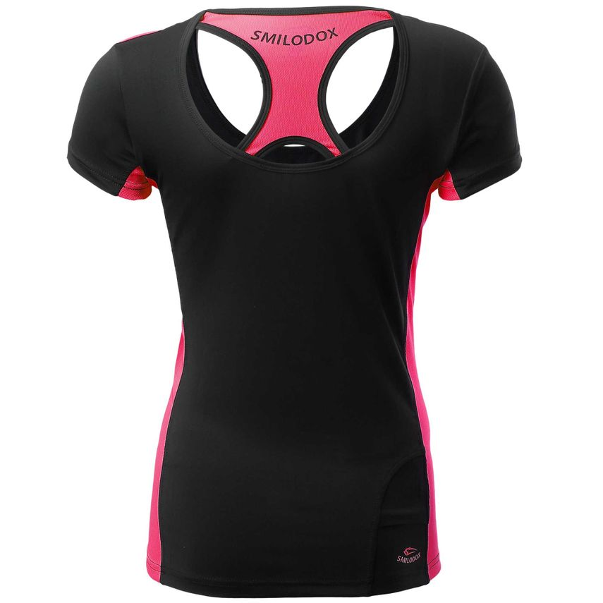 SMILODOX Shirt Damen Sport Fitness Gym Freizeit Top Sportshirt Trainingstop – Bild 7