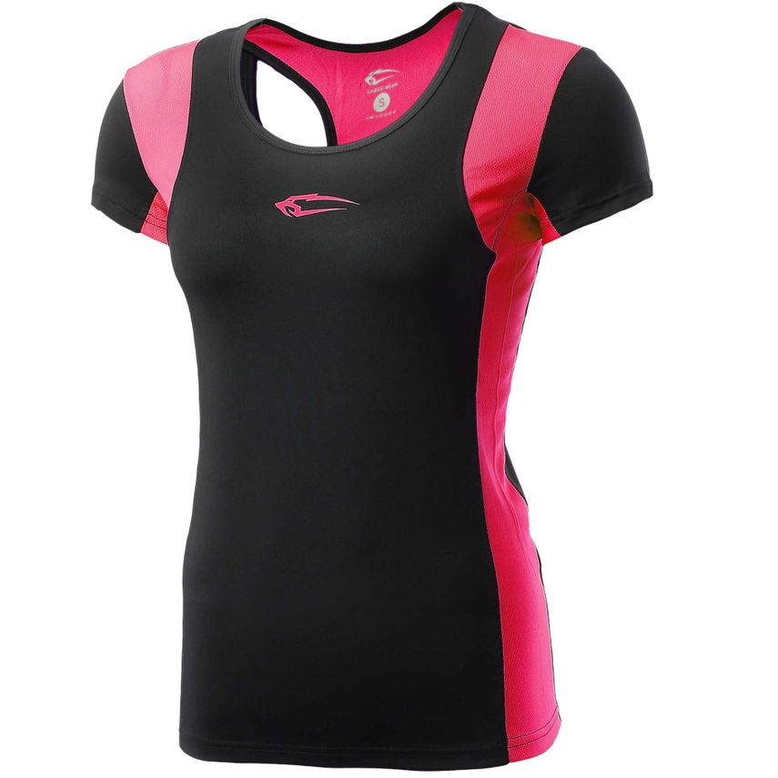 SMILODOX Shirt Damen Sport Fitness Gym Freizeit Top Sportshirt Trainingstop – Bild 6