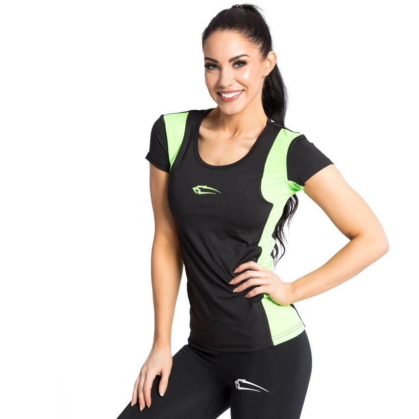SMILODOX shirt women sport fitness Gym leisure top sports shirt trainingstop – Bild 1