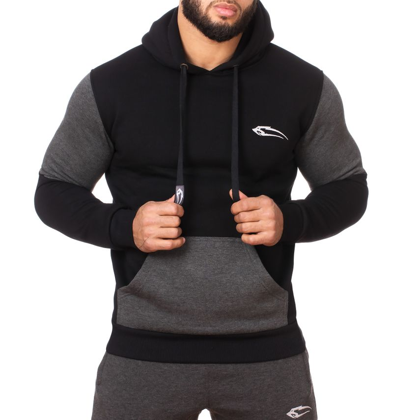 SMILODOX  Hoodie Men Sports Fitness  Gym Leisure Sports Sweater Hooded Sweater – Bild 6