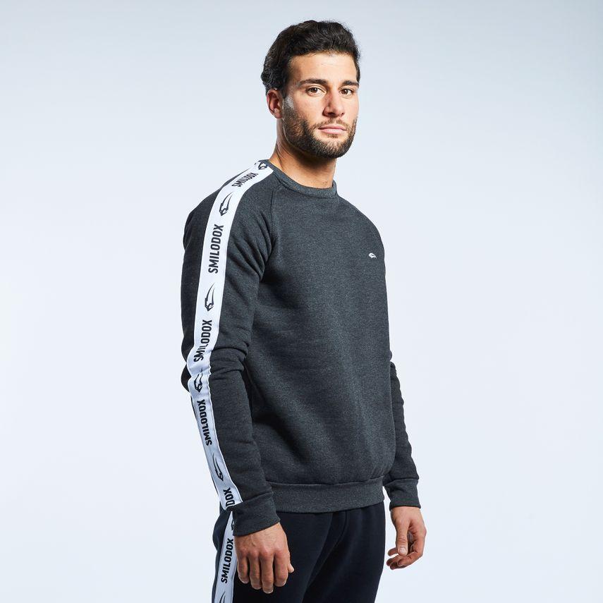 Smilodox Men's Sweatshirt Stripe – Bild 1