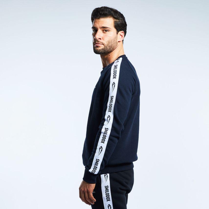 Smilodox Men's Sweatshirt Stripe – Bild 7