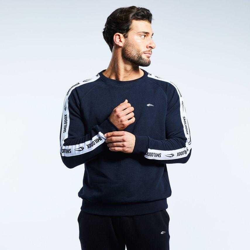Smilodox Men's Sweatshirt Stripe – Bild 6