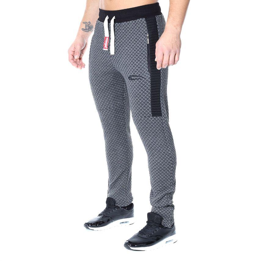 SMILODOX Jogginghose Herren Sport Fitness Gym Training  Freizeit Trainingshose – Bild 1