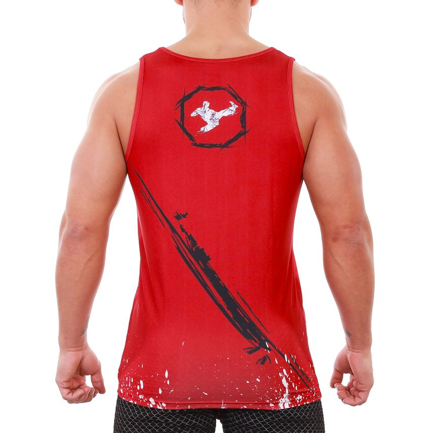 SMILODOX Tank Top Herren Sport Fitness Gym Freizeit Trainingsshirt Sporttop – Bild 2