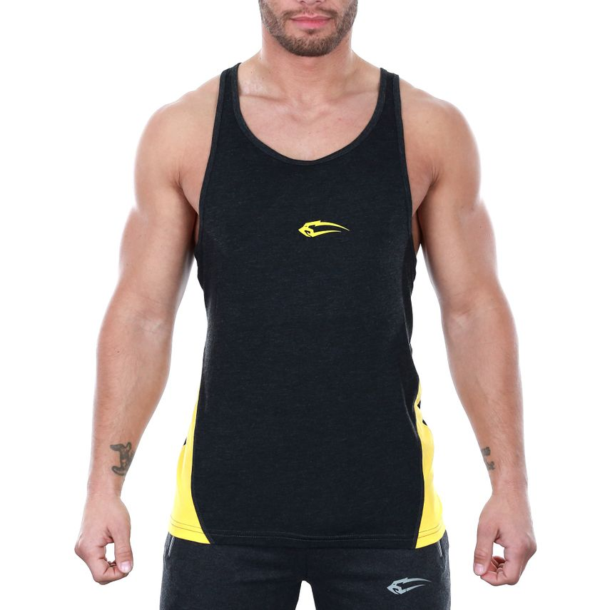 SMILODOX Stringer Men Sports Fitness  Gym Leisure Training Shirt Tank Top – Bild 6