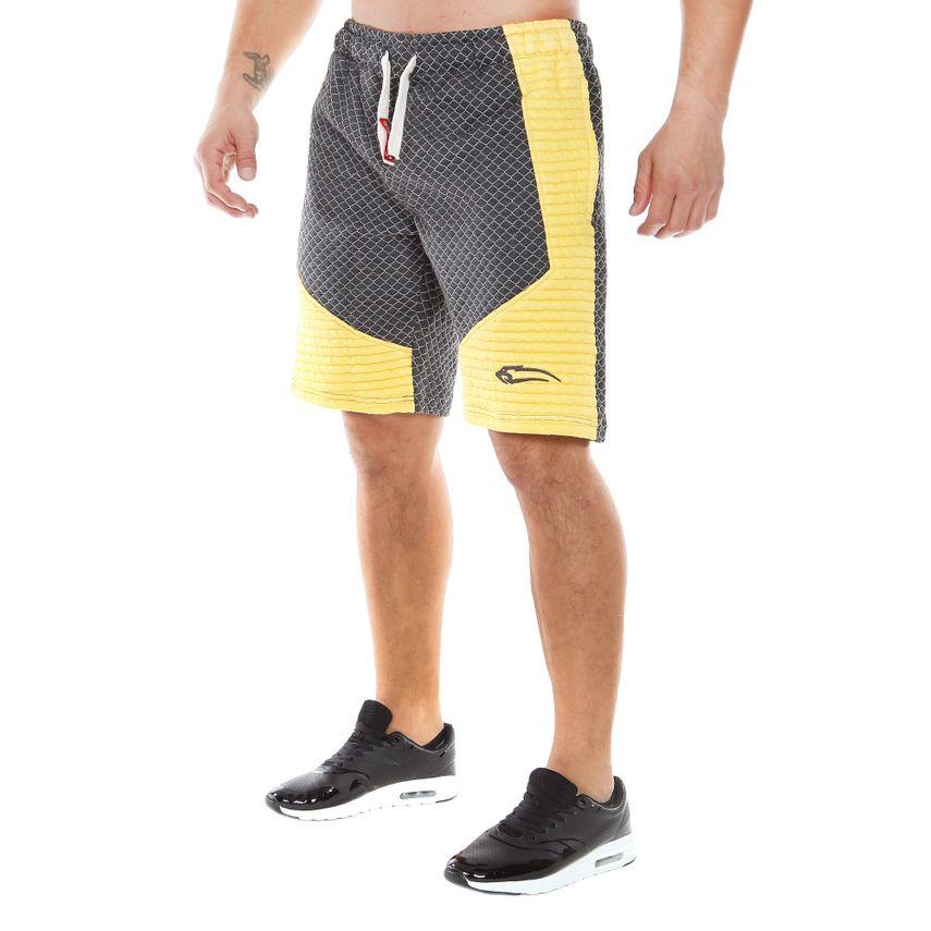 SMILODOX Shorts Herren Sport Fitness Gym Freizeit Trainingsshort kurze Hose – Bild 3