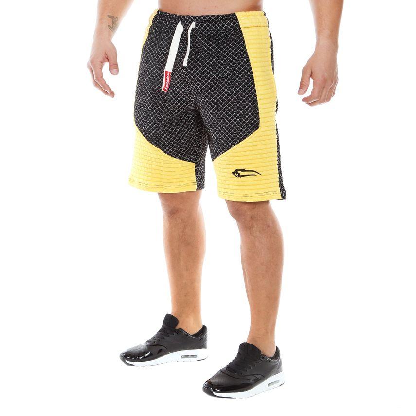 SMILODOX Shorts Herren Sport Fitness Gym Freizeit Trainingsshort kurze Hose – Bild 4