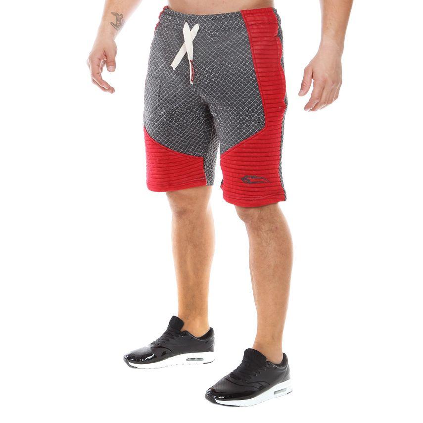 SMILODOX Shorts Herren Sport Fitness Gym Freizeit Trainingsshort kurze Hose – Bild 5
