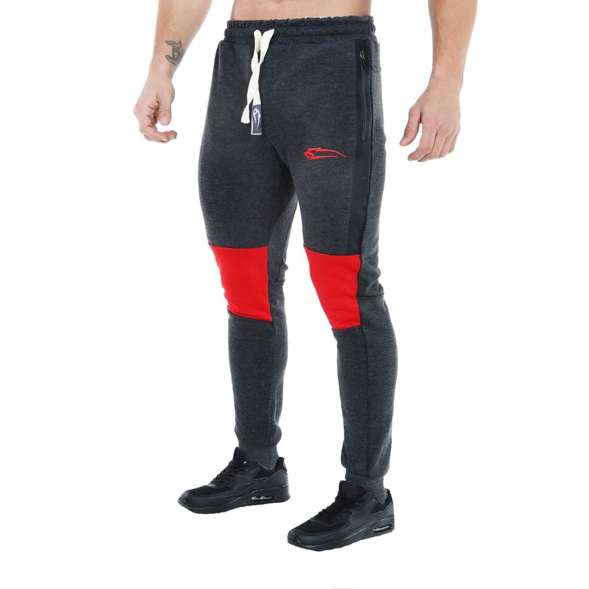 SMILODOX Jogginghose Herren Sport Fitness Gym Training  Freizeit Trainingshose – Bild 1