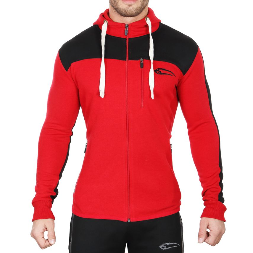 Smilodox Herren Zip Hoodie Dynamic 4.0 Slim Fit – Bild 6