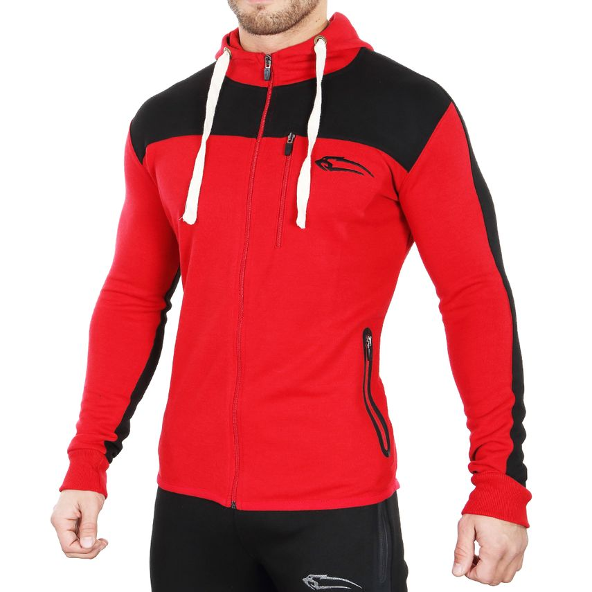 SMILODOX  Zip Hoodie Men Sports Fitness  Gym Leisure Sweaters Hooded Sweaters – Bild 7