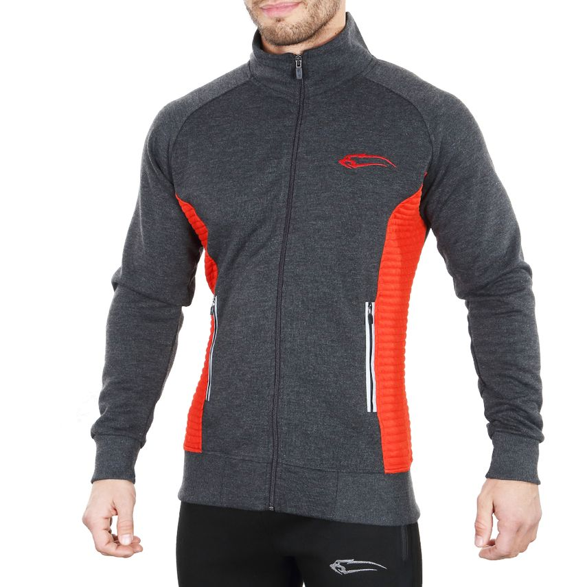 SMILODOX Jacket men sport fitness Gym leisure training jacket fitness jacket – Bild 4