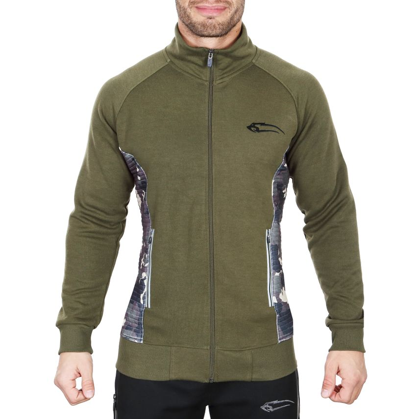 SMILODOX Jacket men sport fitness Gym leisure training jacket fitness jacket – Bild 5