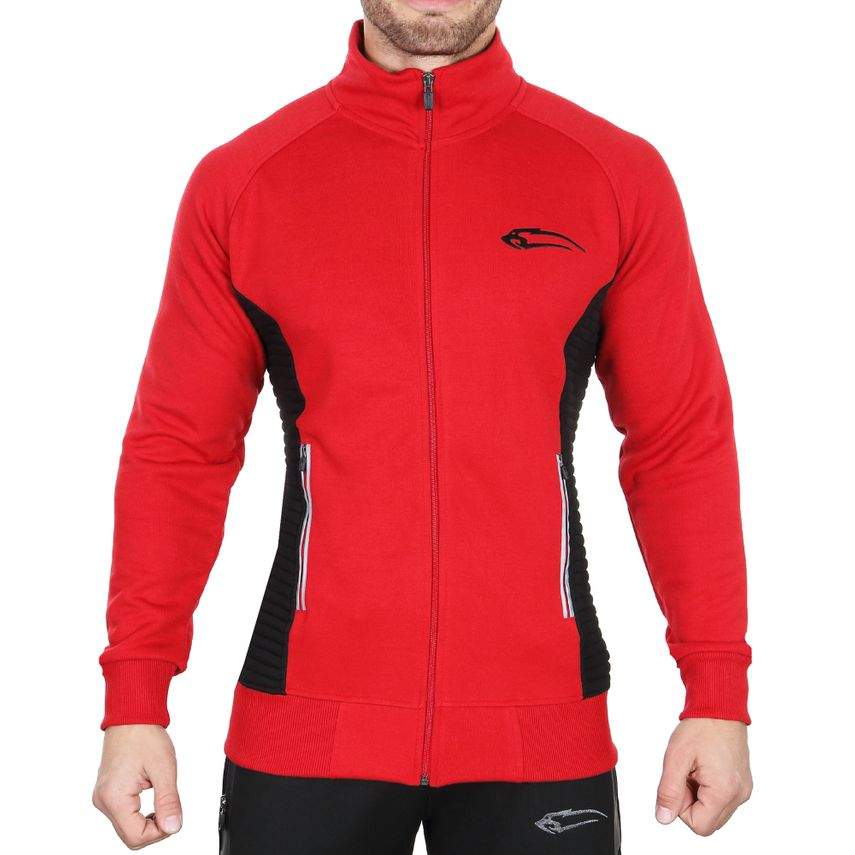 SMILODOX Jacket men sport fitness Gym leisure training jacket fitness jacket – Bild 1