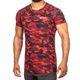 SMILODOX T-Shirt Men Sports Fitness  Gym Leisure Training Shirt Sportshirt – Bild 7