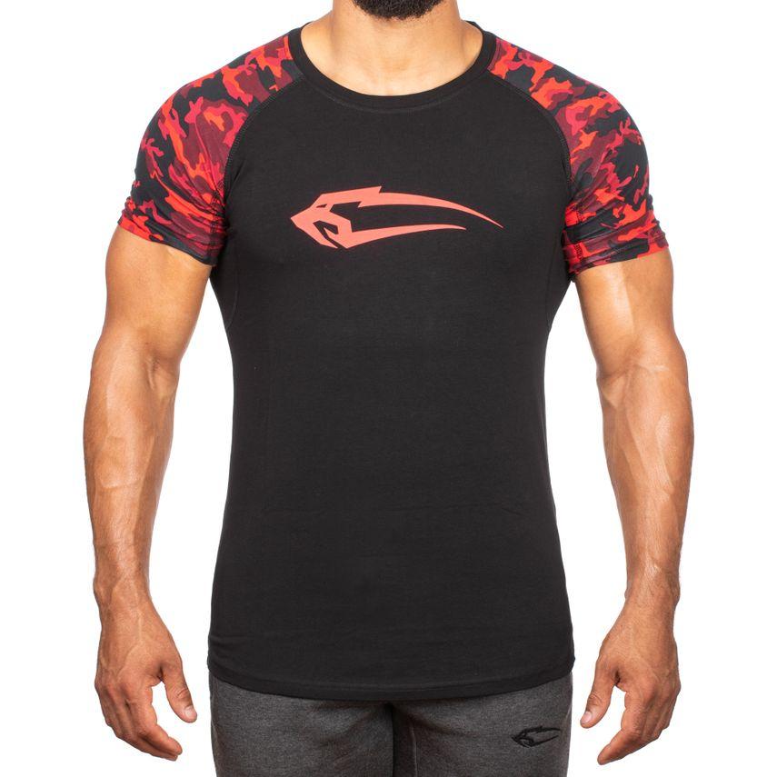 SMILODOX T-Shirt Herren Sport Fitness Gym Freizeit Trainingsshirt Sportshirt – Bild 5