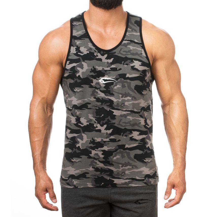 SMILODOX Tank Top Men Sports Fitness  Gym Leisure Training Shirt Sporttop – Bild 3