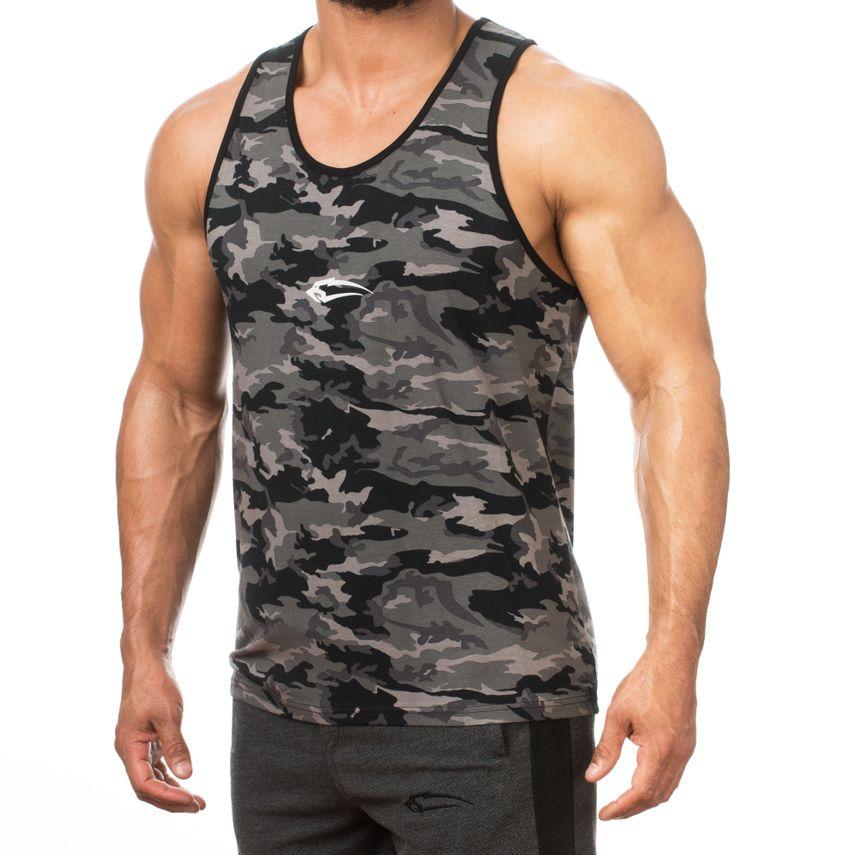 SMILODOX Tank Top Men Sports Fitness  Gym Leisure Training Shirt Sporttop – Bild 4