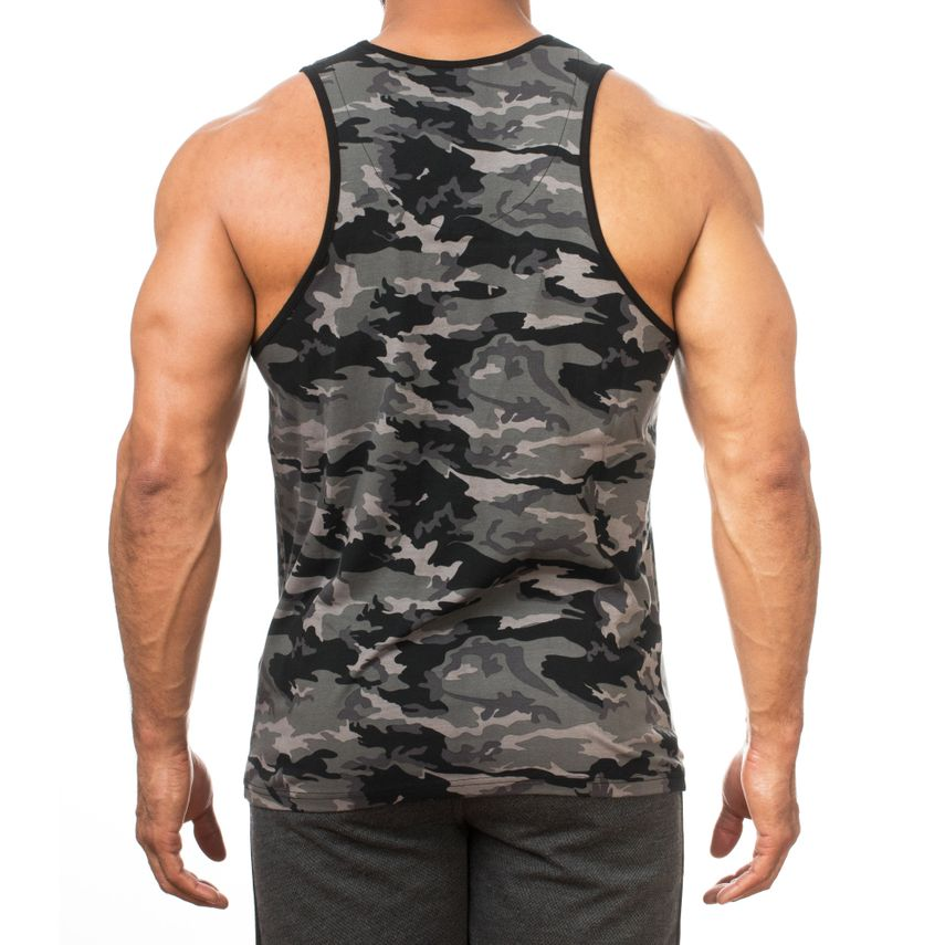 SMILODOX Tank Top Herren Sport Fitness Gym Freizeit Trainingsshirt Sporttop – Bild 2
