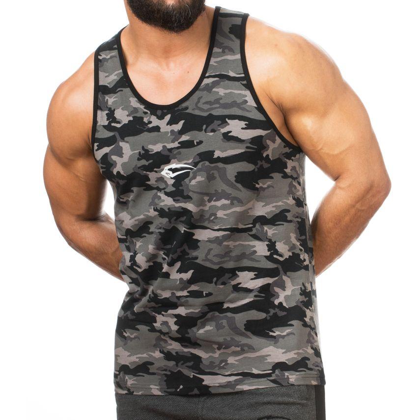 SMILODOX Tank Top Herren Sport Fitness Gym Freizeit Trainingsshirt Sporttop – Bild 1