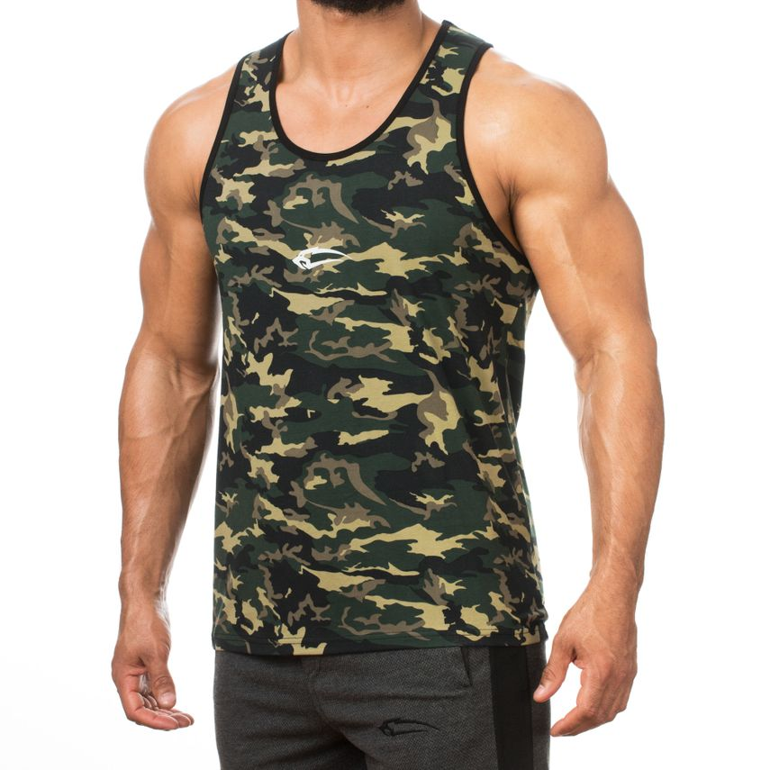 SMILODOX Tank Top Herren Sport Fitness Gym Freizeit Trainingsshirt Sporttop – Bild 8