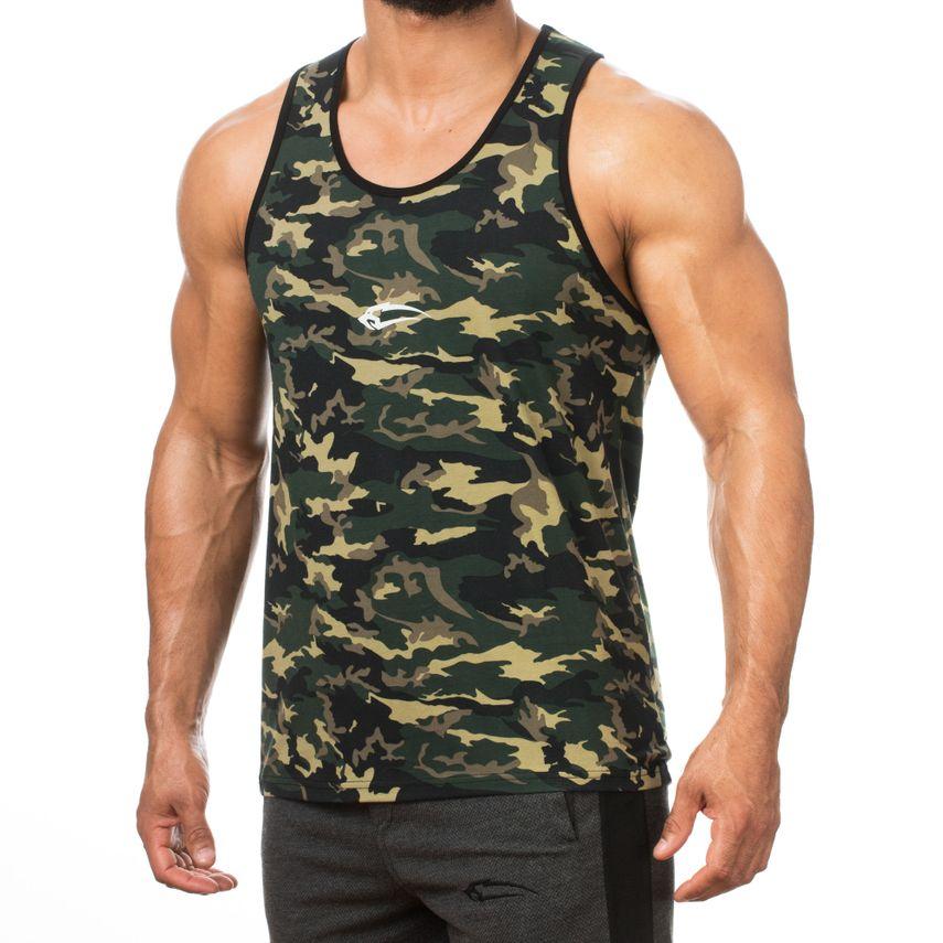 SMILODOX Tank Top Men Sports Fitness  Gym Leisure Training Shirt Sporttop – Bild 8
