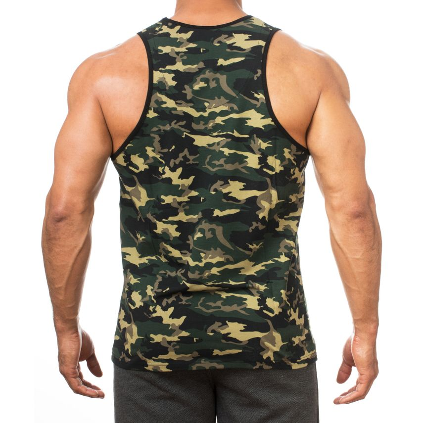 SMILODOX Tank Top Herren Sport Fitness Gym Freizeit Trainingsshirt Sporttop – Bild 5