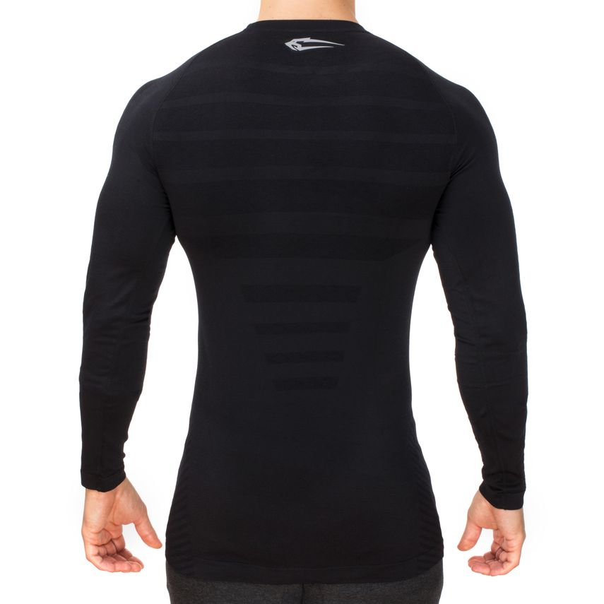SMILODOX Slim Fit Longsleeve Herren Sport Fitness Gym Training Langarmshirt – Bild 5