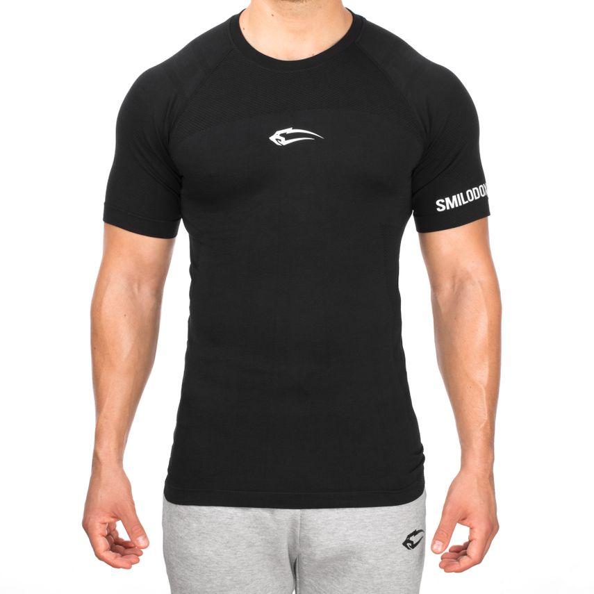 SMILODOX T-Shirt Men Sports Fitness  Gym Leisure Training Shirt Sportshirt – Bild 9