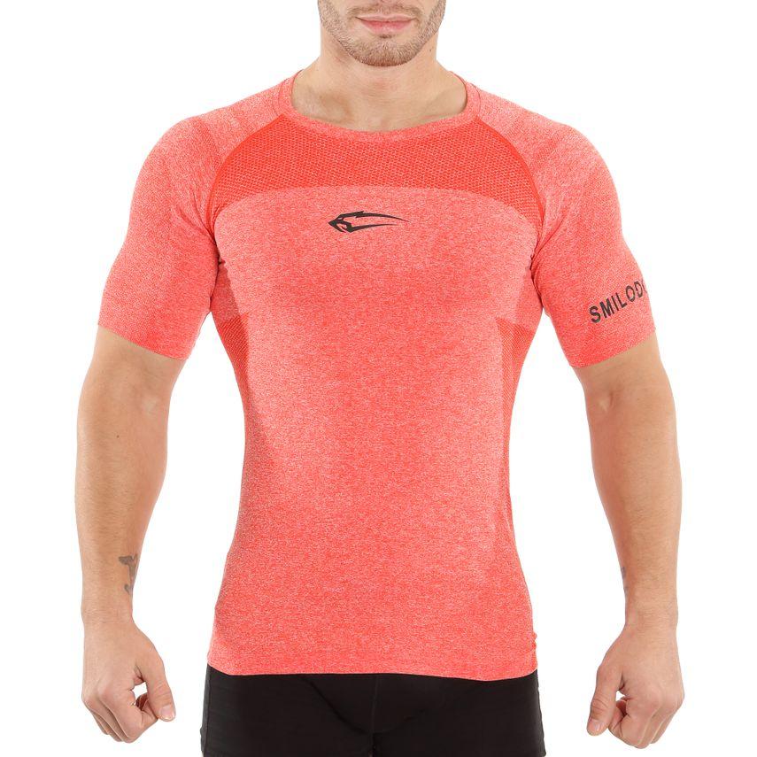 SMILODOX T-Shirt Men Sports Fitness  Gym Leisure Training Shirt Sportshirt – Bild 3