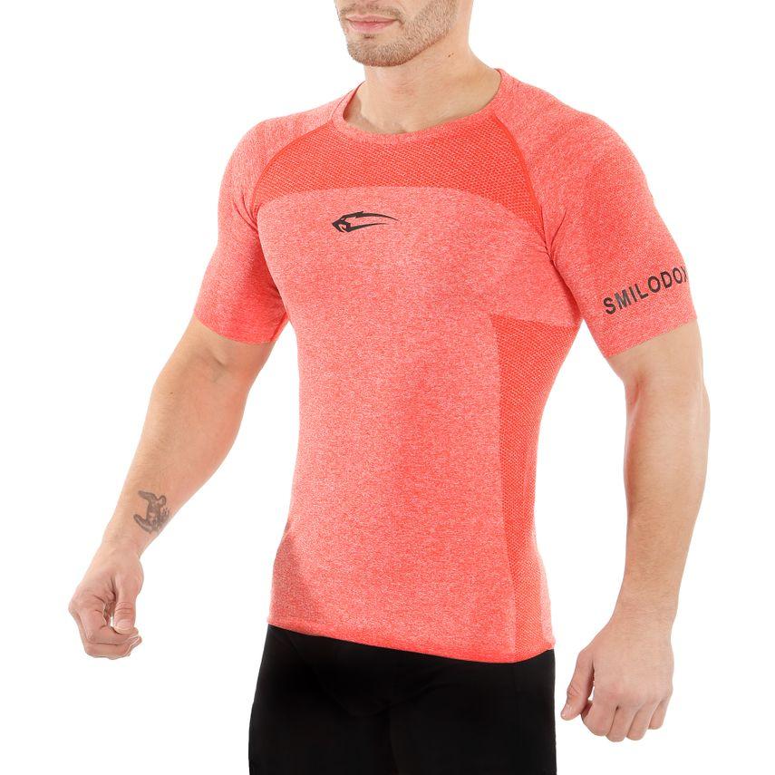 SMILODOX T-Shirt Men Sports Fitness  Gym Leisure Training Shirt Sportshirt – Bild 5